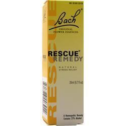 Buy Bach Flower Remedies, Stress Rescue Remedy, 20 mL at Herbal Bless Supplement Store