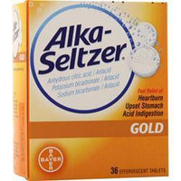 Buy Bayer Healthcare, Alka-Seltzer Gold, 36 tabs at Herbal Bless Supplement Store