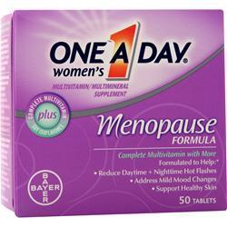 Buy Bayer Healthcare, ONE A DAY Menopause Formula, 50 tabs at Herbal Bless Supplement Store