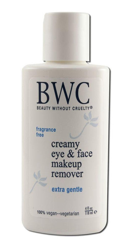 Buy Beauty Without Cruelty, Creamy Eye snd Face Make-up Remover, 4 oz at Herbal Bless Supplement Store