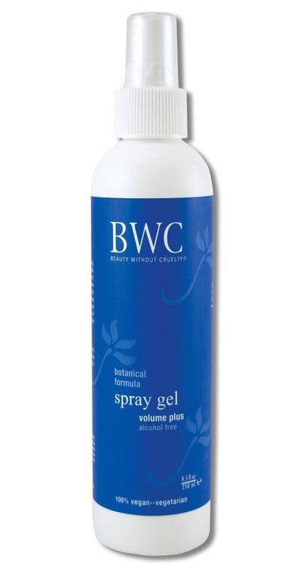 Buy Beauty Without Cruelty, Volume Plus Spray Styling Gel, 8.5 oz at Herbal Bless Supplement Store