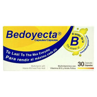 Buy Bedoyecta, Multivitamin Capsules with B12 and Folic Acid - 30 capsules at Herbal Bless Supplement Store
