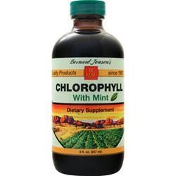 Buy Bernard Jensen's, Chlorophyll With Mint, 8 fl.oz at Herbal Bless Supplement Store