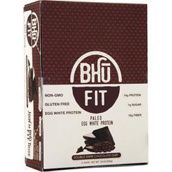 Buy Bhu Foods, Paleo Egg White Protein Bar, Double Dark Chocolate Chi 12 bars at Herbal Bless Supplement Store