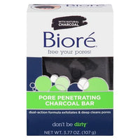 Buy Biore, Pore Penetrating Charcoal Bar - 3.77oz at Herbal Bless Supplement Store