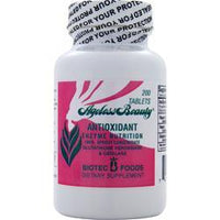 Buy Biotec Foods, Ageless Beauty Antioxidant Enzyme Nutrition, 200 tabs at Herbal Bless Supplement Store