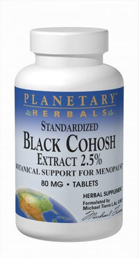 Buy Black Cohosh 2.5%™ Std 2.5% Triterpene Glycosides, Tablets at Herbal Bless Supplement Store