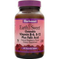 Buy Bluebonnet, Chewable Vitamin B-6, B-12 Plus Folic Acid, 60 tabs at Herbal Bless Supplement Store