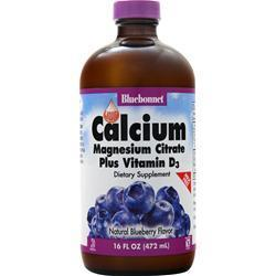 Buy Bluebonnet Liquid Calcium Magnesium Citrate Plus Vitamin D3 at Herbal Bless Supplement Store