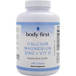 Buy Body First Calcium Magnesium Zinc + Vit D at Herbal Bless Supplement Store