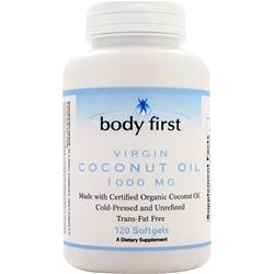 Buy Body First, Coconut Oil (1,000mg) 120 sgels at Herbal Bless Supplement Store