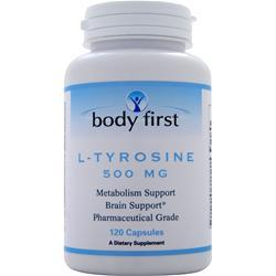 Buy Body First, L-Tyrosine (500mg) 120 caps at Herbal Bless Supplement Store