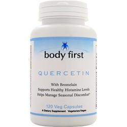 Buy Body First, Quercetin with Bromelain, 120 vcaps at Herbal Bless Supplement Store