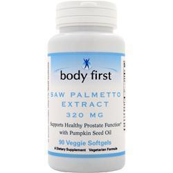 Buy Body First, Saw Palmetto Extract (320mg) 90 sgels at Herbal Bless Supplement Store