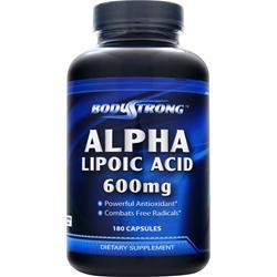 Buy BodyStrong, Alpha Lipoic Acid (600mg), 180 caps at Herbal Bless Supplement Store