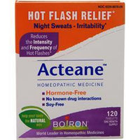 Buy Boiron, Hot Flash Relief - Acteane, 120 tabs at Herbal Bless Supplement Store