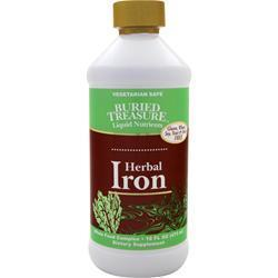 Buy Buried Treasure, Herbal Iron, 16 fl.oz at Herbal Bless Supplement Store