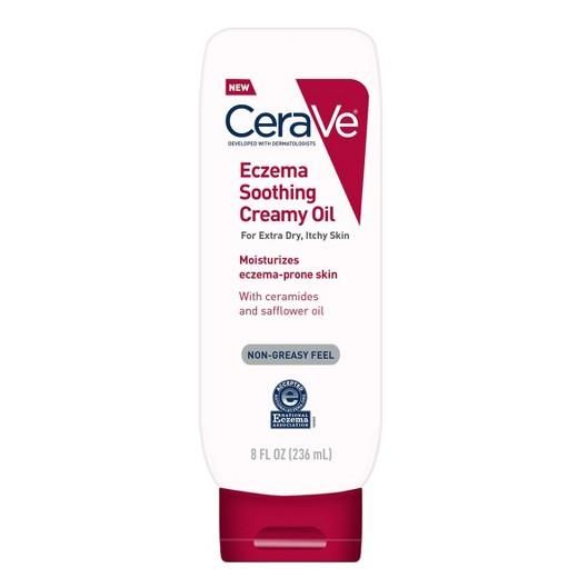 Buy CeraVe, Eczema Soothing Creamy Oil 8 oz at Herbal Bless Supplement Store
