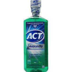Buy Chattem, ACT Restoring Anticavity Flouride Rinse, Mint 18 oz at Herbal Bless Supplement Store