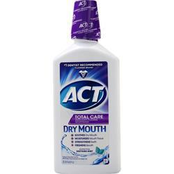 Buy Chattem, ACT Total Care Anticavity Flouride Rinse, Dry Mouth 33.8 fl.oz at Herbal Bless Supplement Store