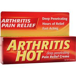Buy Chattem, Arthritis Hot Pair Relief Creme, 3 oz at Herbal Bless Supplement Store