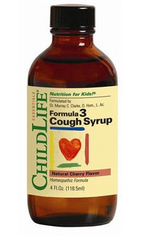 Buy ChildLife, Formula 3 Cough Syrup Natural Berry Flavor, 4 oz at Herbal Bless Supplement Store