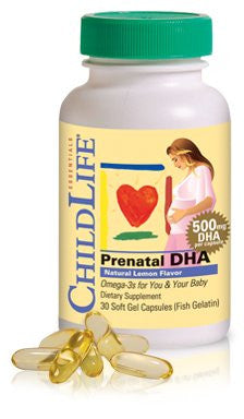 Buy ChildLife, Prenatal DHA-Lemon, 30 softgel at Herbal Bless Supplement Store