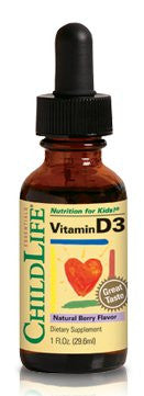 Buy ChildLife, Vitamin D3 Mixed Berry Flavor, 1 oz at Herbal Bless Supplement Store