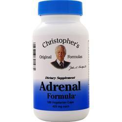 Buy Christopher's Original Formulas, Adrenal Formula, 100 vcaps at Herbal Bless Supplement Store