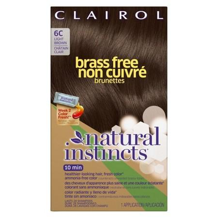 Buy Clairol Natural Instincts, Brass Free Hair Color at Herbal Bless Supplement Store