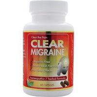 Buy Clear Products, Migraine, 60 caps at Herbal Bless Supplement Store