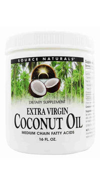 Buy Coconut Oil Extra Virgin, Jar, 15 oz at Herbal Bless Supplement Store