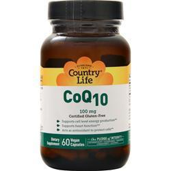 Buy Country Life, Coenzyme Q10 (100mg) at Herbal Bless Supplement Store