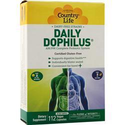 Buy Country Life, Daily-Dophilus, 112 vcaps at Herbal Bless Supplement Store
