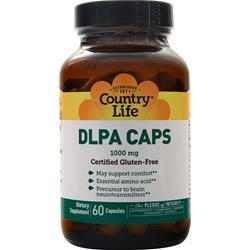 Buy Country Life, DLPA, 60 caps at Herbal Bless Supplement Store