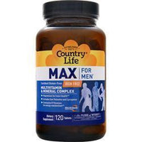 Buy Country Life, Max for Men - Maxi-Sorb, 120 tabs at Herbal Bless Supplement Store