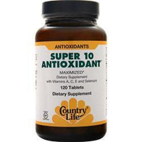 Buy Country Life, Super 10 Antioxidant, 120 tabs at Herbal Bless Supplement Store