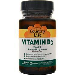 Buy Country Life, Vitamin D3 (1000IU) at Herbal Bless Supplement Store