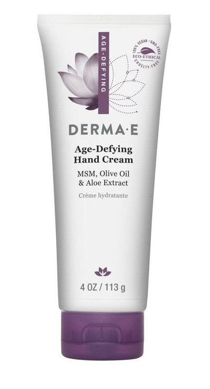 Buy Derma E, Age-Defying Hand Cream, 4 oz at Herbal Bless Supplement Store