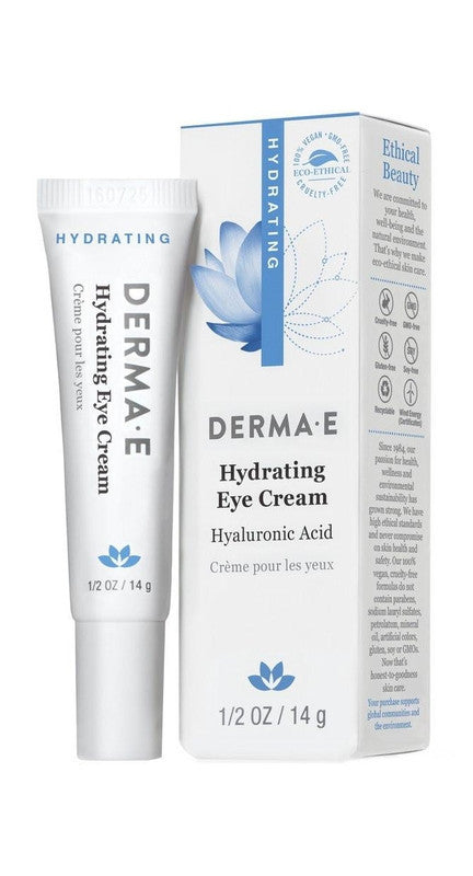 Buy Derma E, Hydrating Eye Cream, 2 oz at Herbal Bless Supplement Store