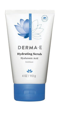 Buy Derma E, Hydrating Scrub with Hyaluronic Acid, 4 oz at Herbal Bless Supplement Store
