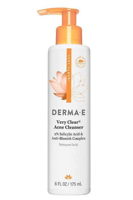 Buy Derma E, Very Clear Acne Cleanser, 6 oz at Herbal Bless Supplement Store