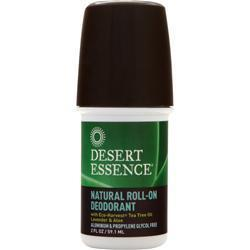 Buy Desert Essence, Natural Deodorant, Tea Tree Oil Lavender 2 fl.oz at Herbal Bless Supplement Store
