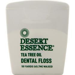 Buy Desert Essence, Tea Tree Oil Dental Floss, 1 unit at Herbal Bless Supplement Store
