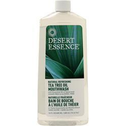 Buy Desert Essence, Tea Tree Oil Mouthwash (Sugar & Alcohol Free) at Herbal Bless Supplement Store