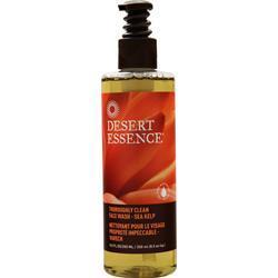 Buy Desert Essence, Thoroughly Clean Face Wash, Tea Tree Oil, Sea Kelp 8 oz at Herbal Bless Supplement Store