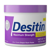 Buy Desitin, Maximum Strength Zinc Oxide Diaper Rash Paste - 16oz at Herbal Bless Supplement Store