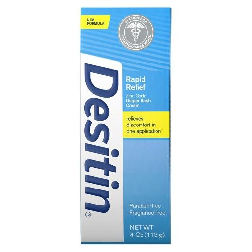 Buy Desitin, Rapid Relief Creamy Diaper Rash Ointment - 4 oz. at Herbal Bless Supplement Store