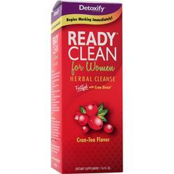Buy Detoxify Ready, Clean for Women - Herbal Cleanse, Cran-Tea 16 fl.oz at Herbal Bless Supplement Store