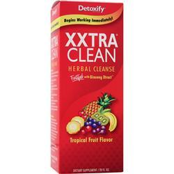 Buy Detoxify, XXtra Clean - Herbal Cleanse, Tropical Fruit 20 fl.oz at Herbal Bless Supplement Store